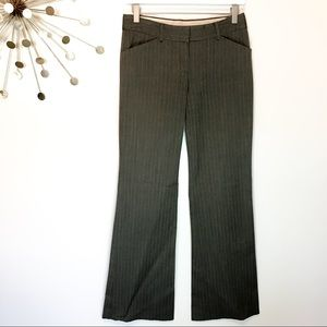 Theory wool blend gray pinstripe Dress Pants 2